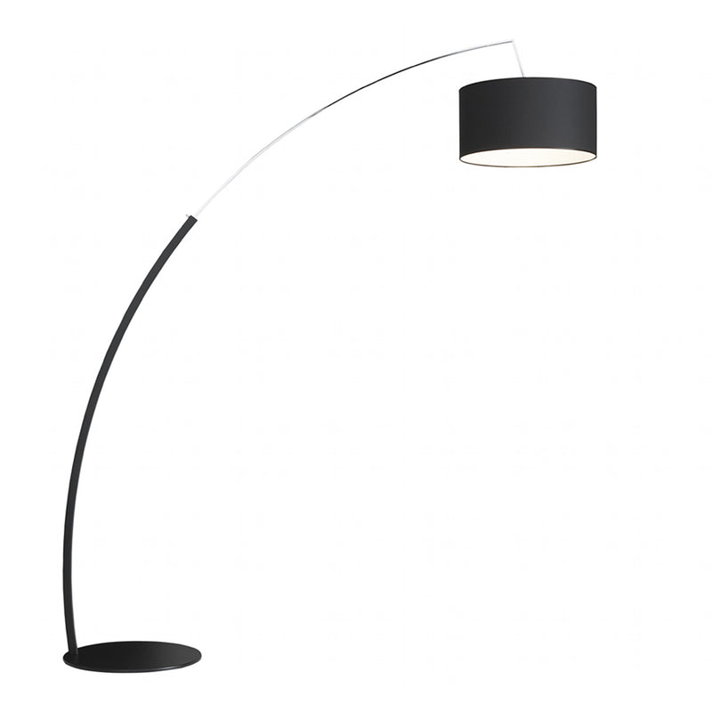 Dimensions Floor Standard Lamp, Black Shade
