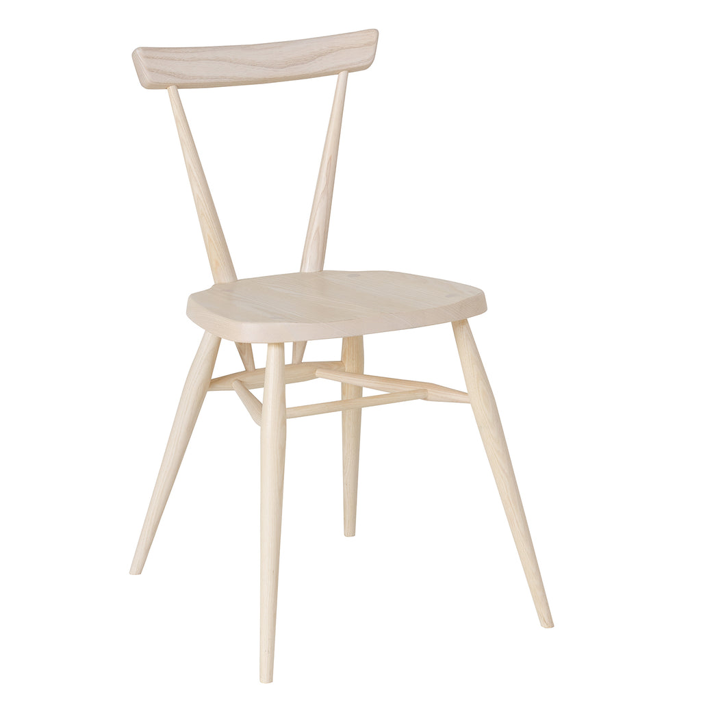 Ercol Originals Stacking Chair, Solid Ash