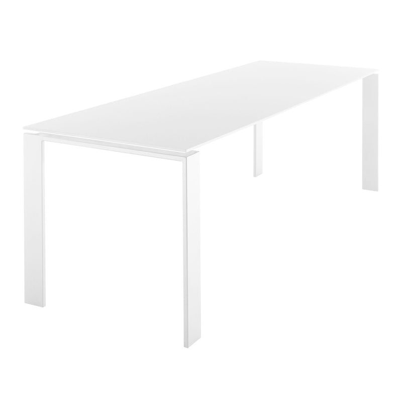 Four Table, White 158 x 79 cm