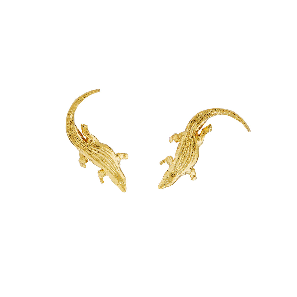 Crocodile Stud Earrings