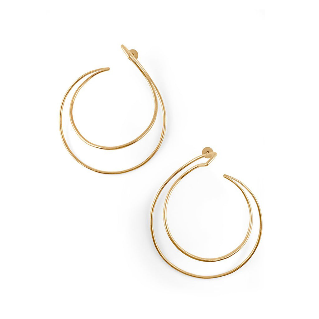Demilune Mini Hoops Earrings