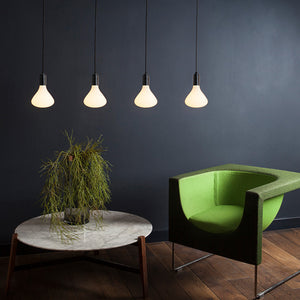 Graphite Pendant Light & Noma 6W LED Bulb
