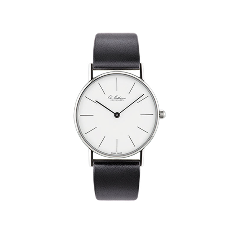 OM2.33.Q Watch, Leather Strap