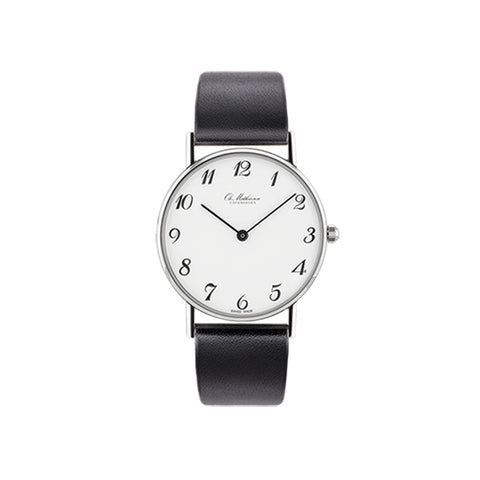 OM1.35Q Watch, Leather Strap