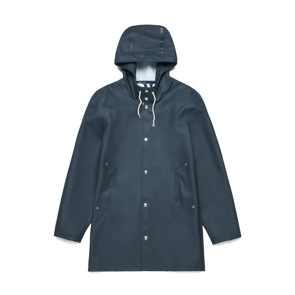 Stockholm Raincoat - Navy Blue