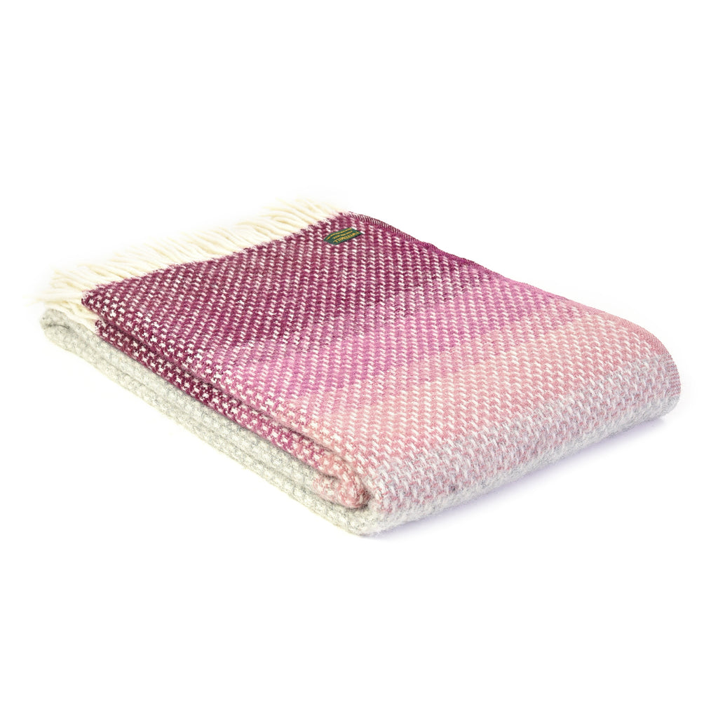 Ombre Wool Throw, 150 x 183 cm
