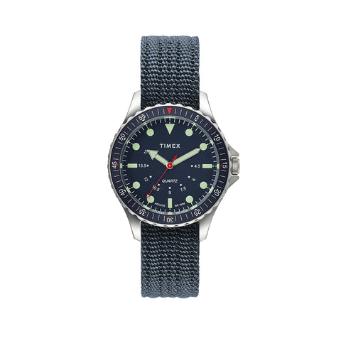 Acadia 40mm Watch, Fabric strap