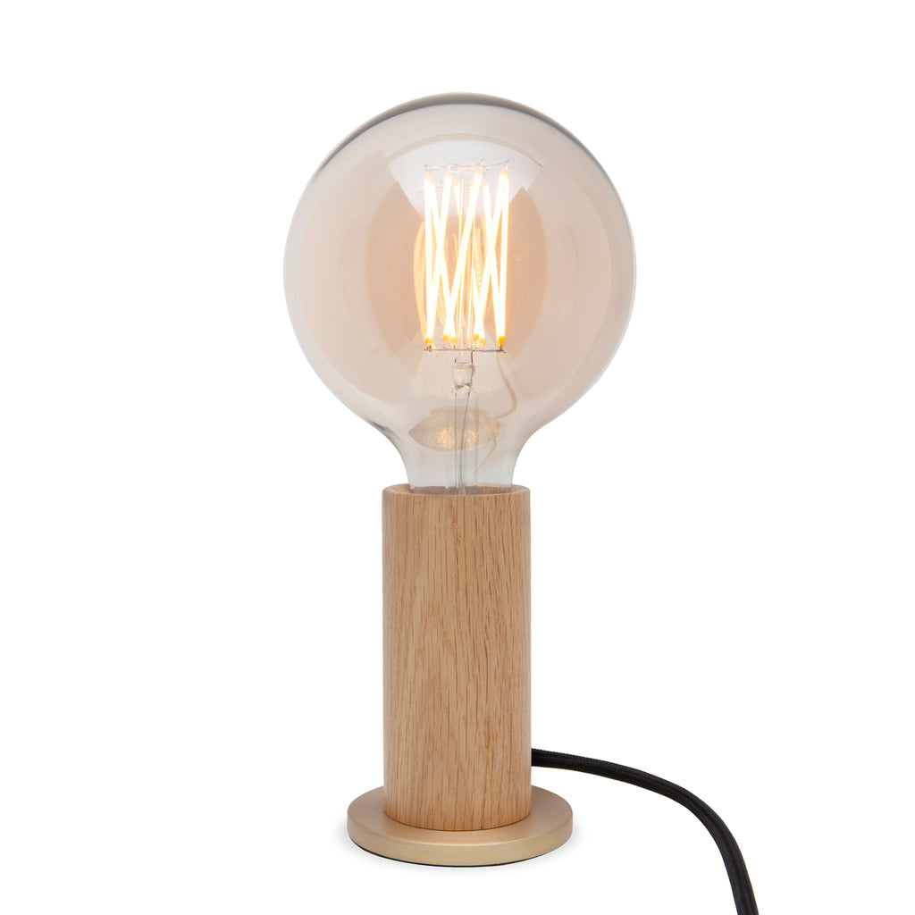 Knuckle Lamp, Wood