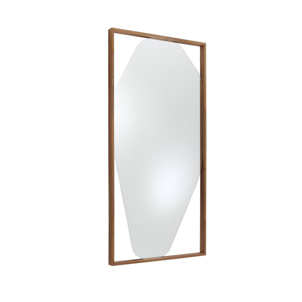 Belize Mirror, Walnut