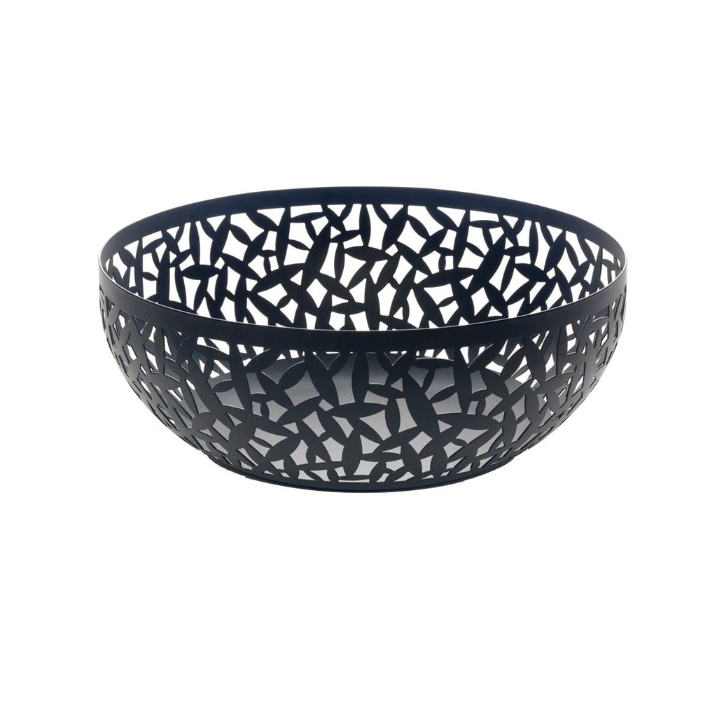 Cactus Fruit Basket Black, 29 cm by Alessi