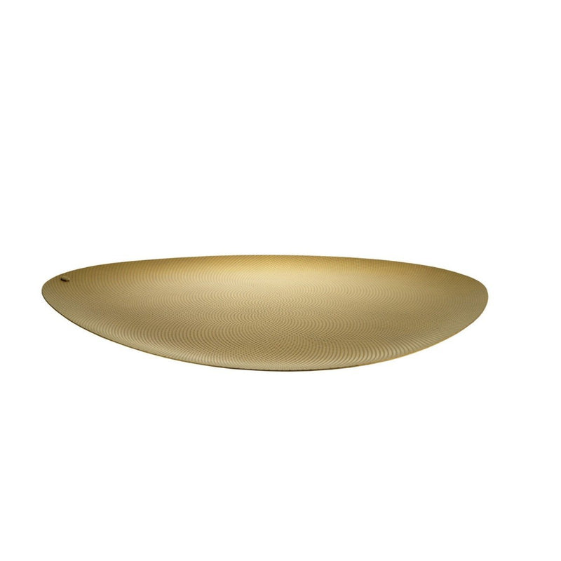 Colombina Tray, Brass by Alessi