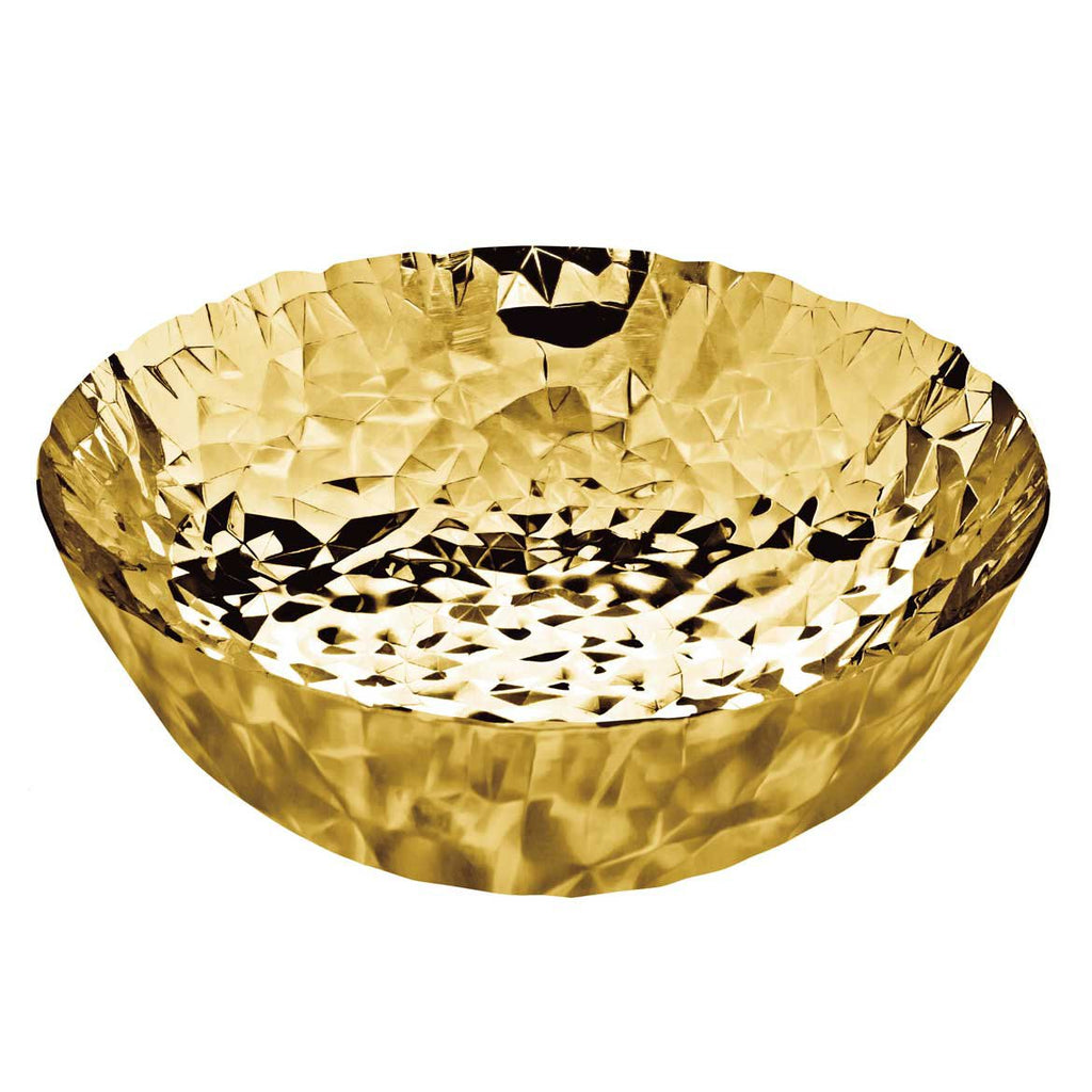 Joy N. 11 Basket, 24 Carat Gold Plated by Alessi