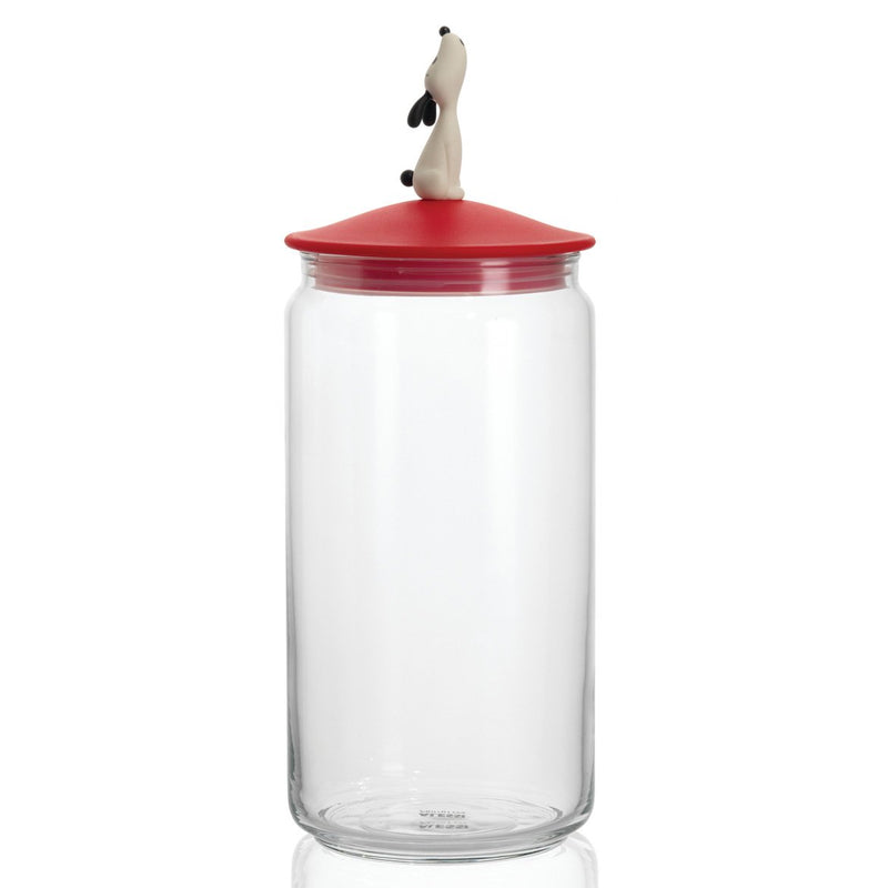 Lula Jar for Dog Food Red by Alessi
