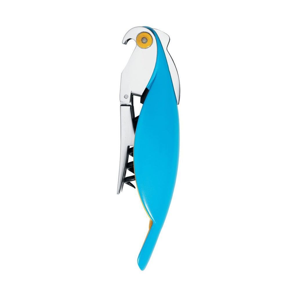 Parrot Corkscrew Light Blue by Alessi