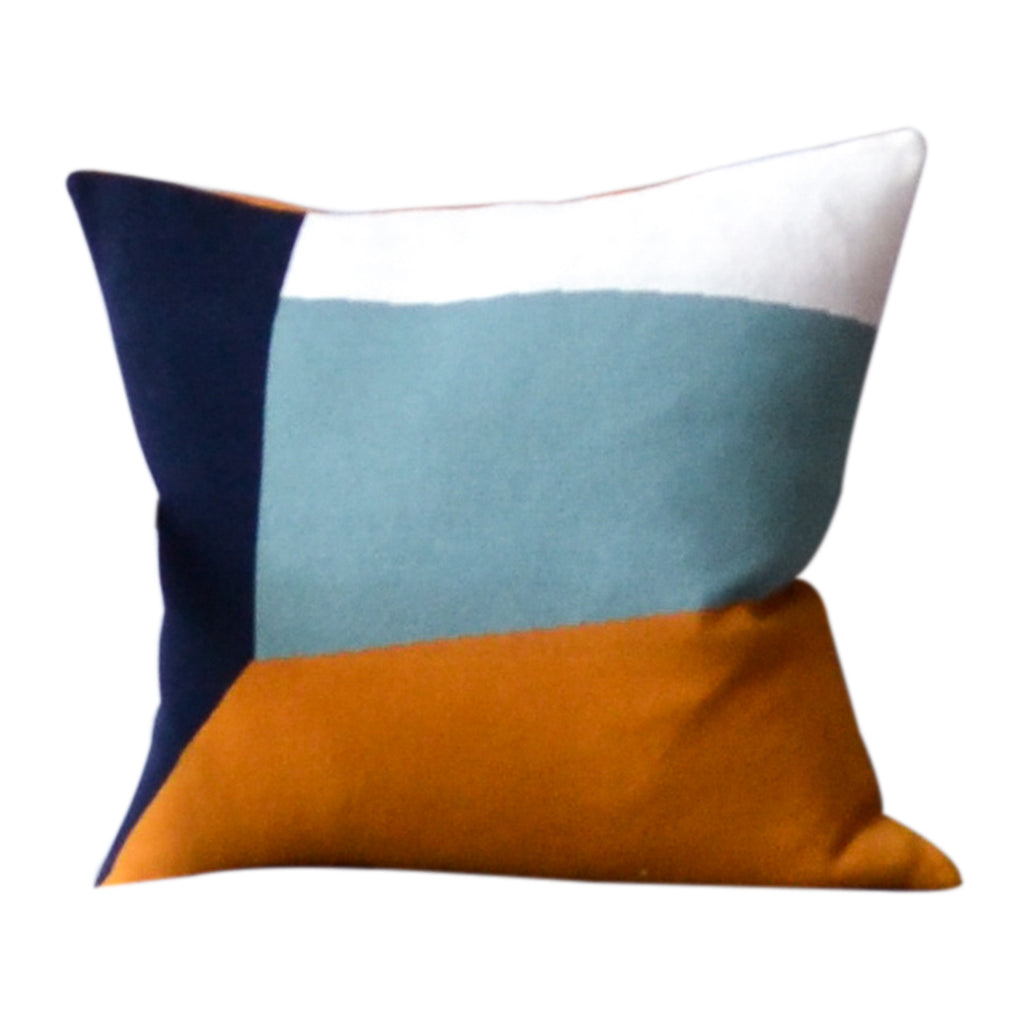 Land Cushion, Aqua