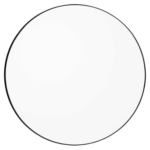 Circum Mirror Small, Black / Clear