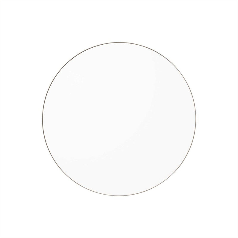 Circum Mirror Small,  Grey / Clear by Aytm