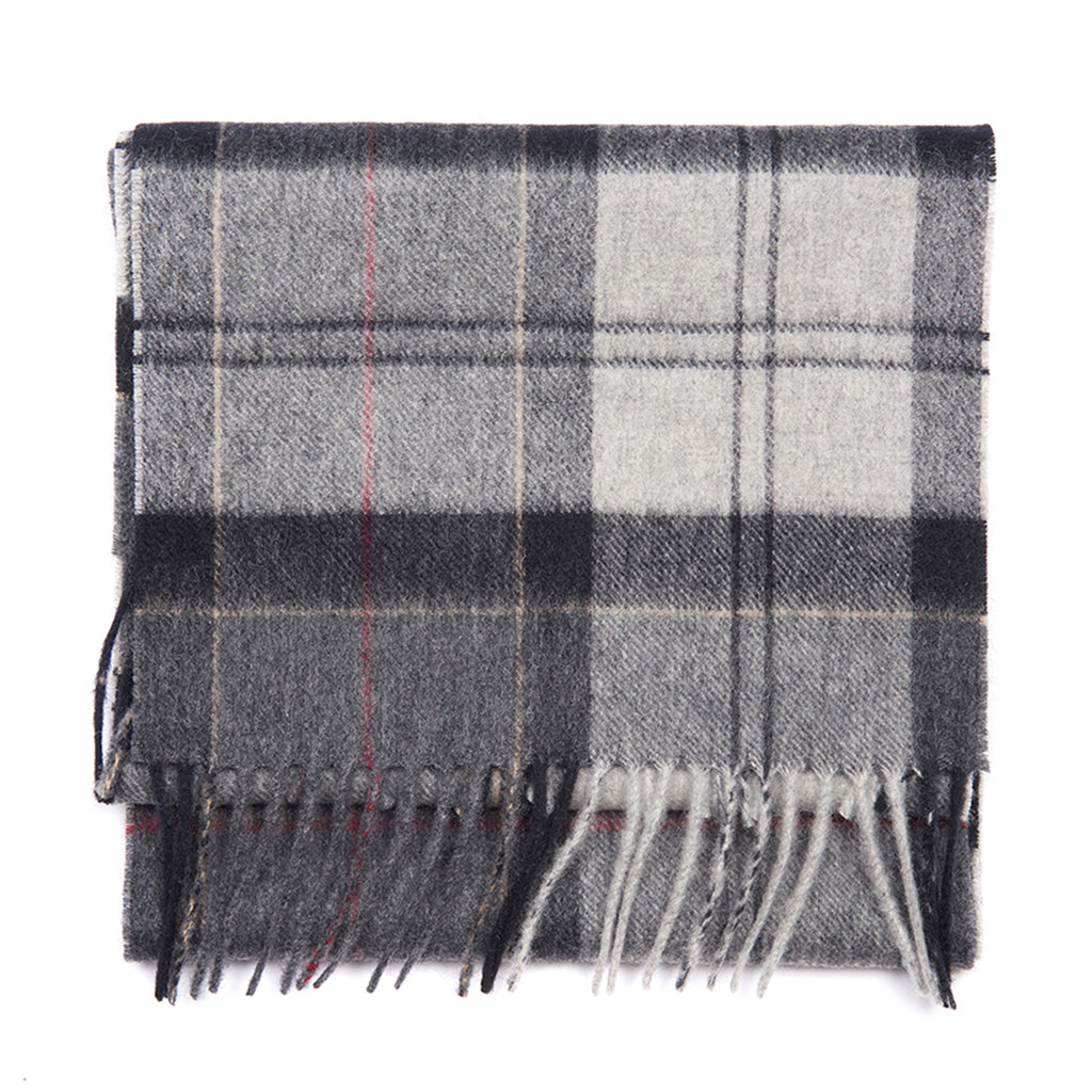 Holden Lambswool Scarf, Grey