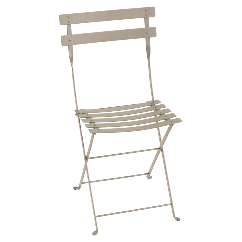 Bistro Folding Metal Chair, Cactus