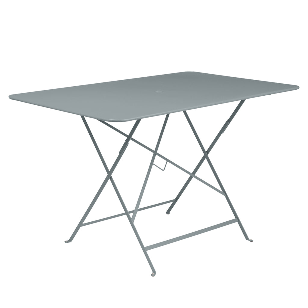 Bistro Rectangular Metal Table, Grey