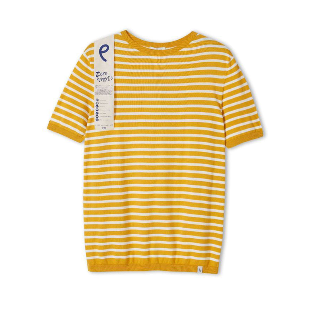 Knitted Breton Stripe T-Shirt