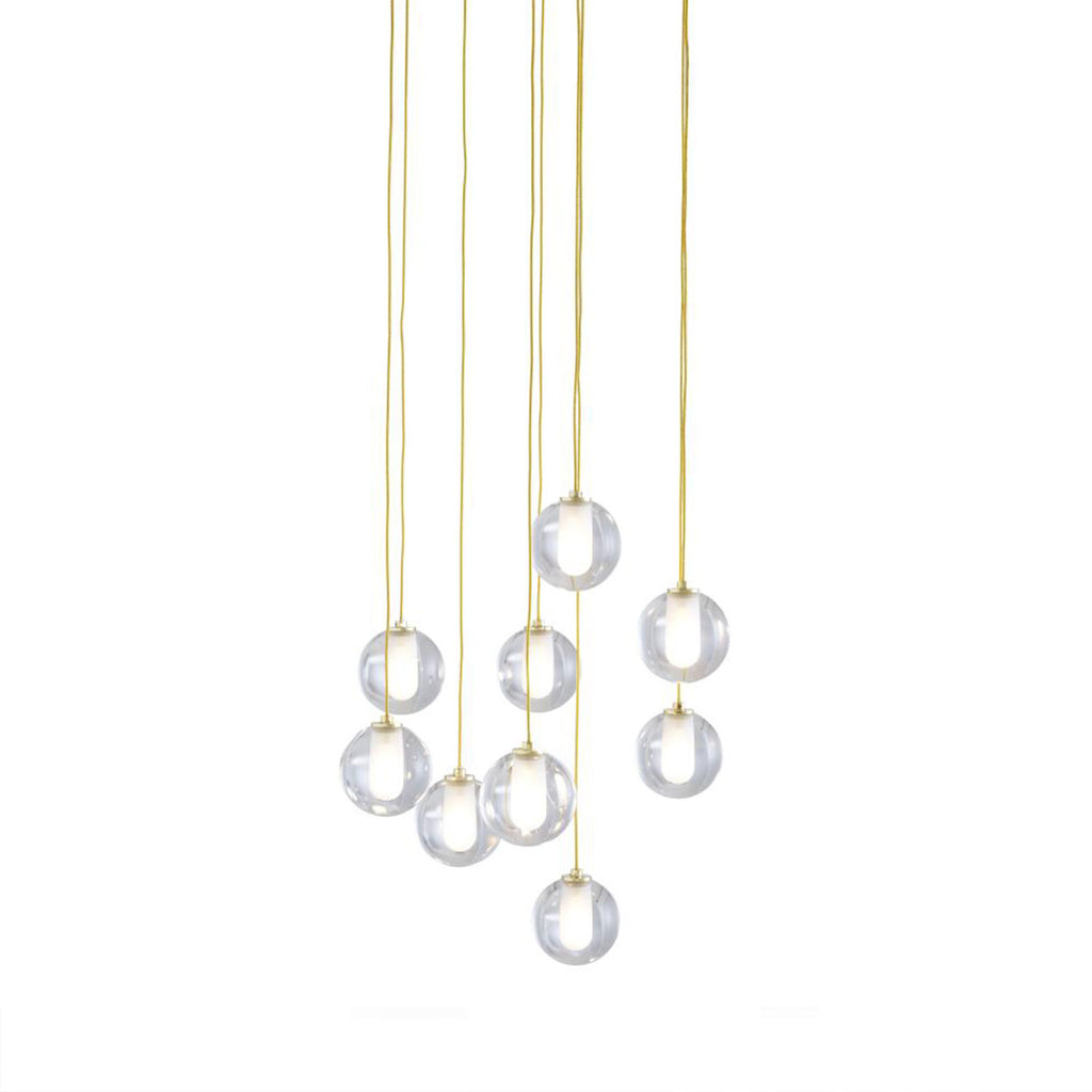 Calot Suspended Pendant Light - Set of Nine