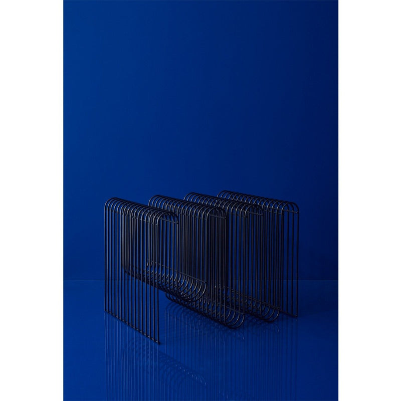 curva-magazine-holder-black