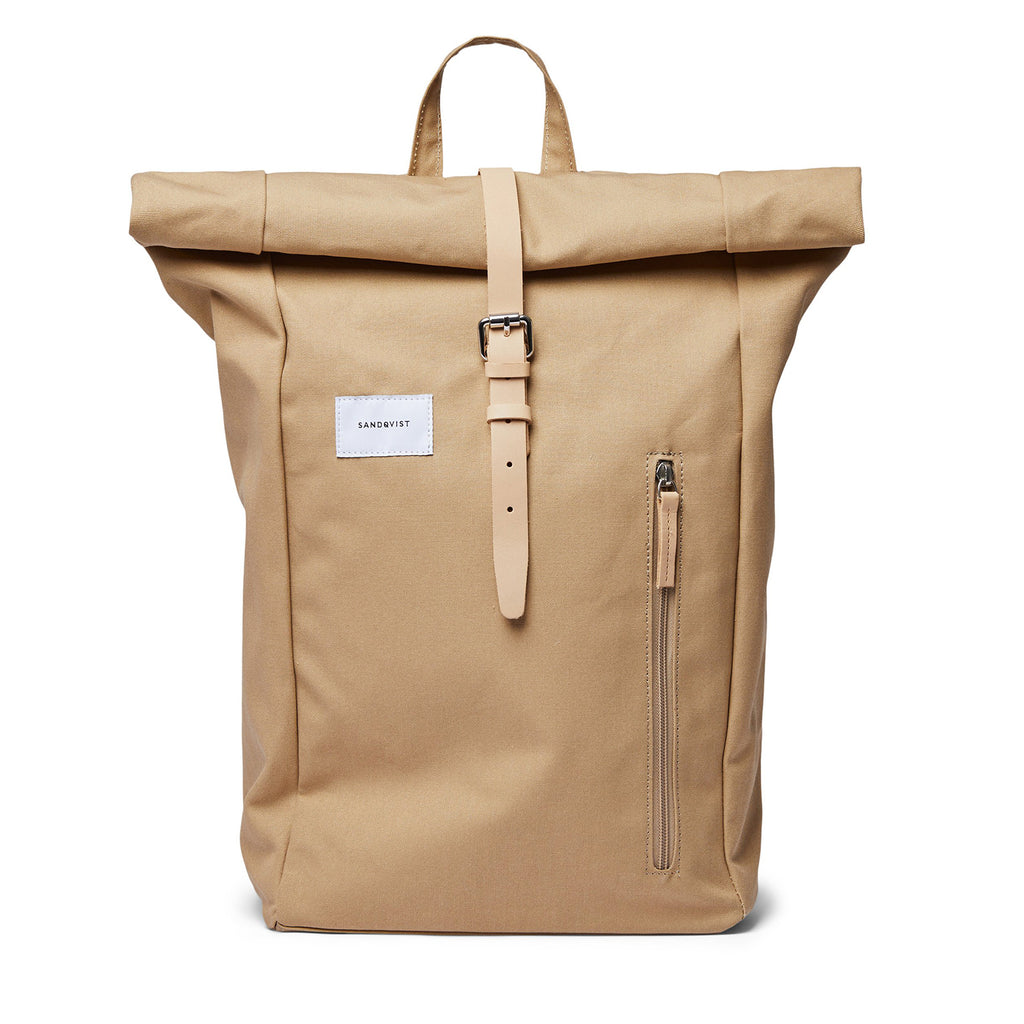 Dante Rolltop Backpack, Beige