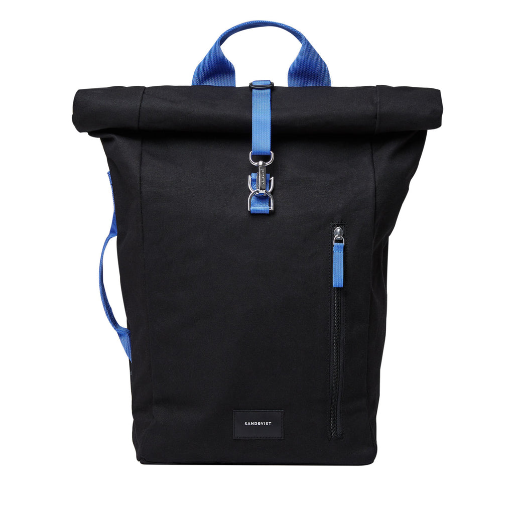 Dante Rolltop Backpack, Black