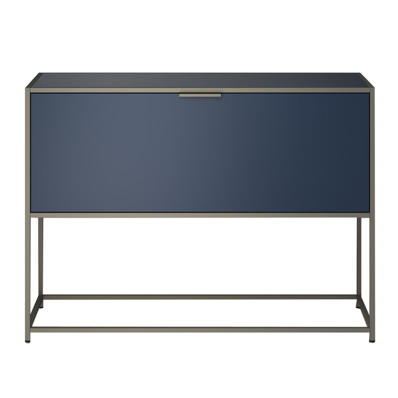 Dita Console Table, Night Blue