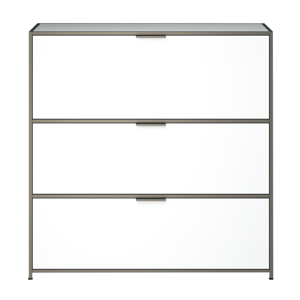 Dita Secretaire Desk, White