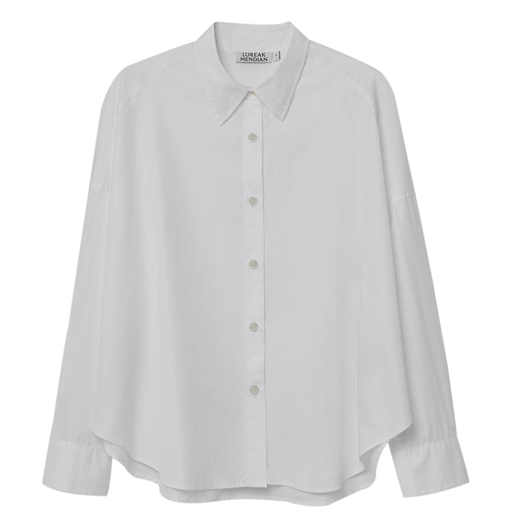 Ello White Cotton Shirt