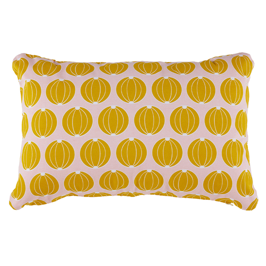 Envie D'Ailleurs Outdoor Cushion, Yellow