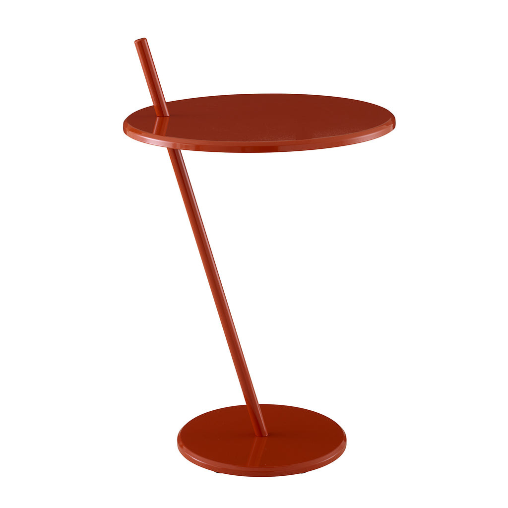 Good Evening Pedestal Table, Terracotta