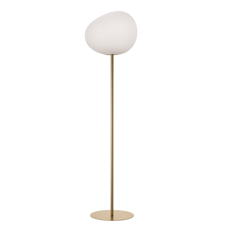 Gregg Floor Lamp, Gold