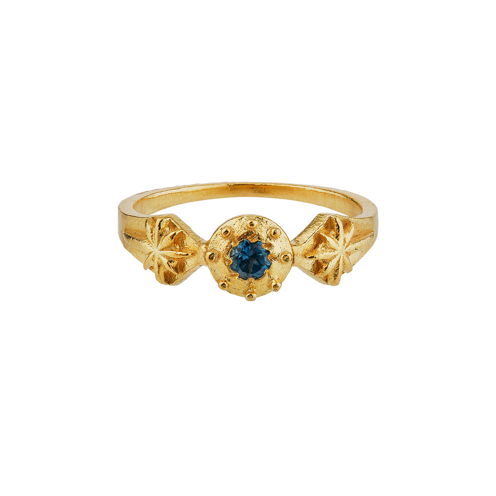 Guiding Star Ring, Gold Plated