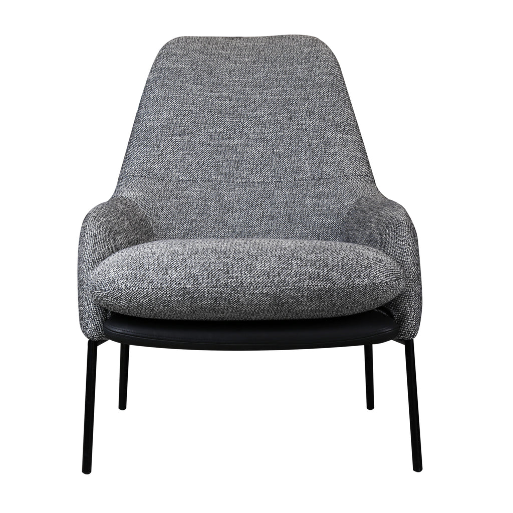 Hamburg Armchair, Grey Tweedy