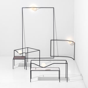 Heco Square Table & Light