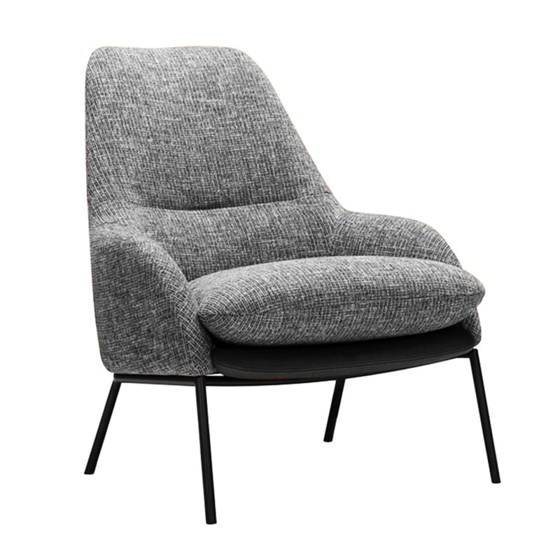 Ex-Display Hamburg Armchair, Grey Tweedy