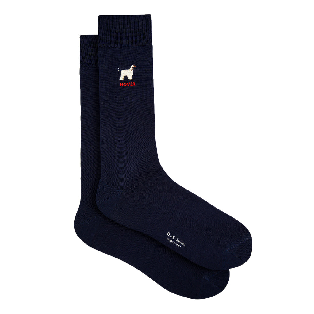 Men's Socks, Homer Dog