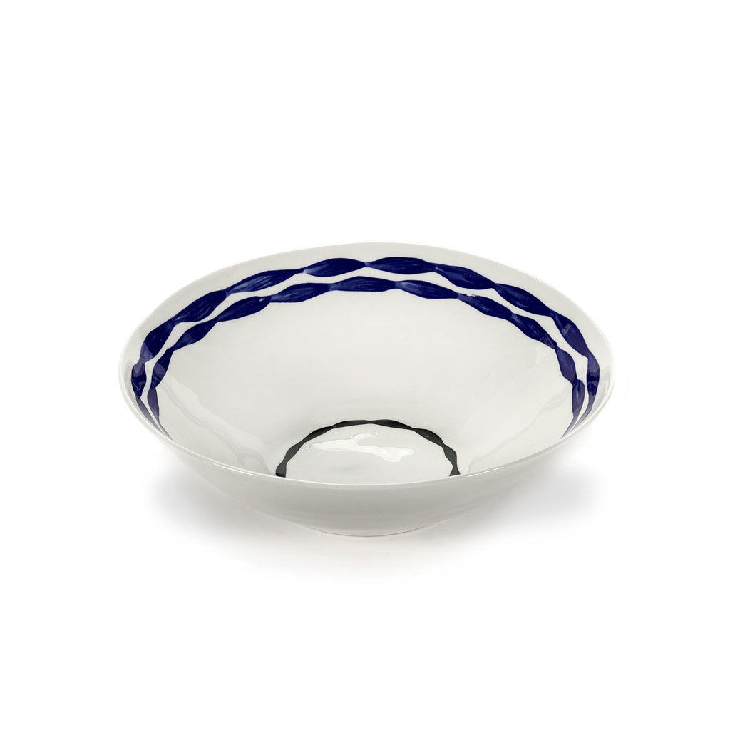 Isa Waves Bowl, 24 cm