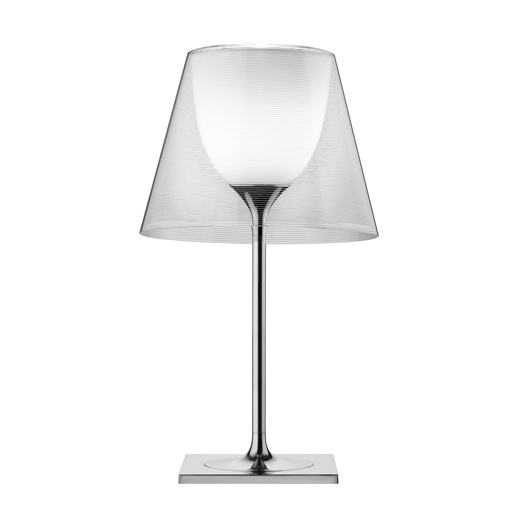 KTribe T2 Table Lamp, Transparent
