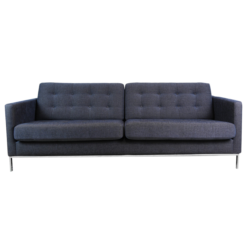 Ex-Display Kalle 3 Seater Sofa, Divine 45 Dark Blue