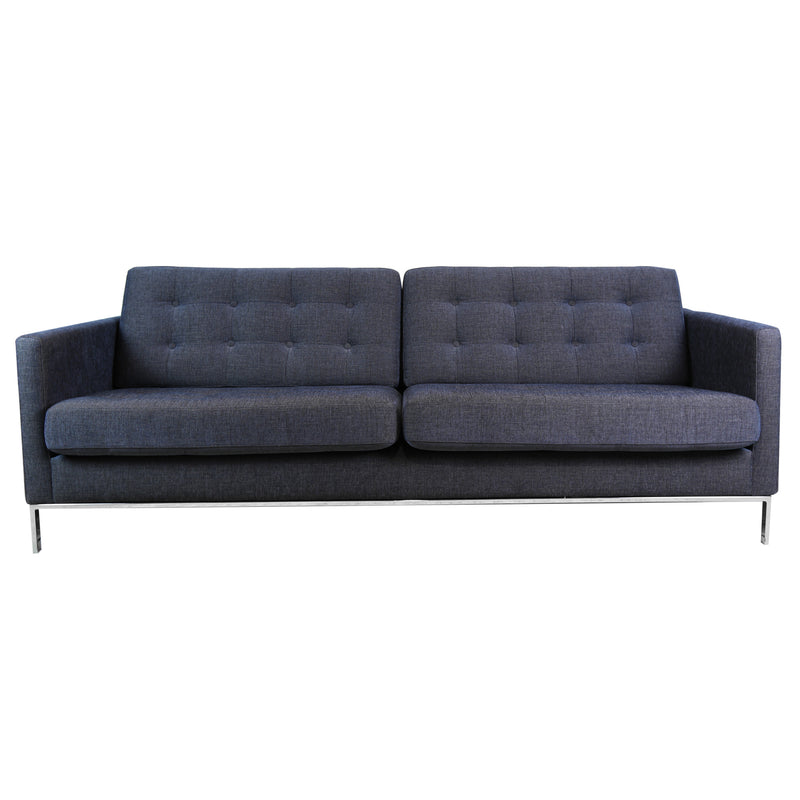 Kalle 3 Seater Sofa, Divine 45 Dark Blue