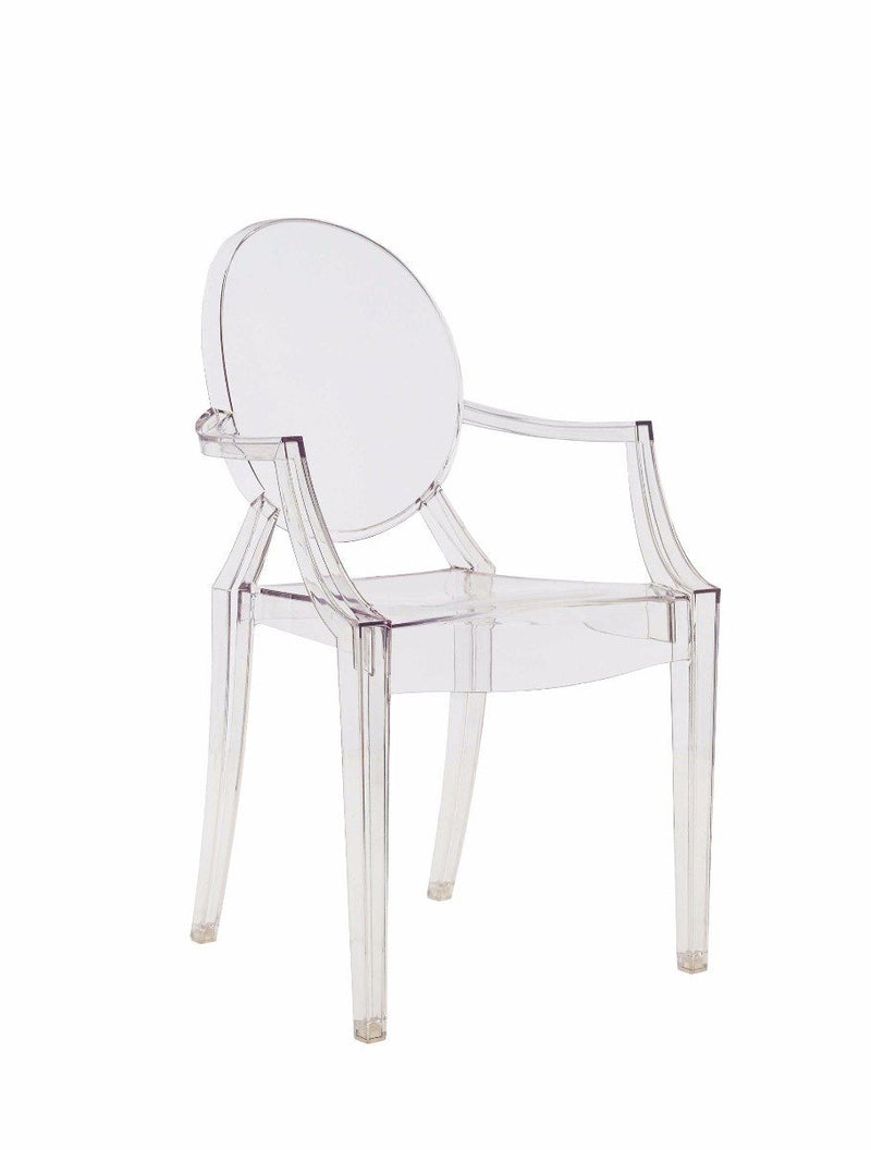 Louis Ghost Chair, Transparent
