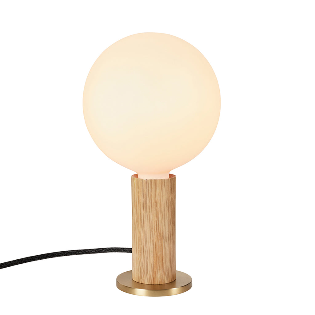 Knuckle Table Lamp & Sphere Bulb