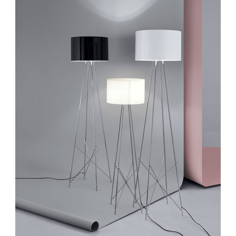 Ray F2 Floor Lamp, White