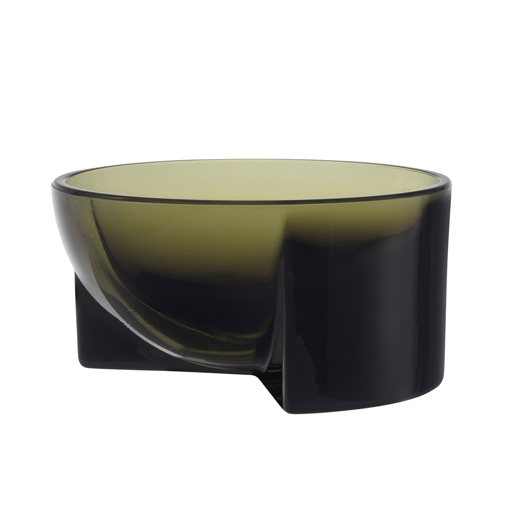 Kuru Interior Bowl, Frosted Glass