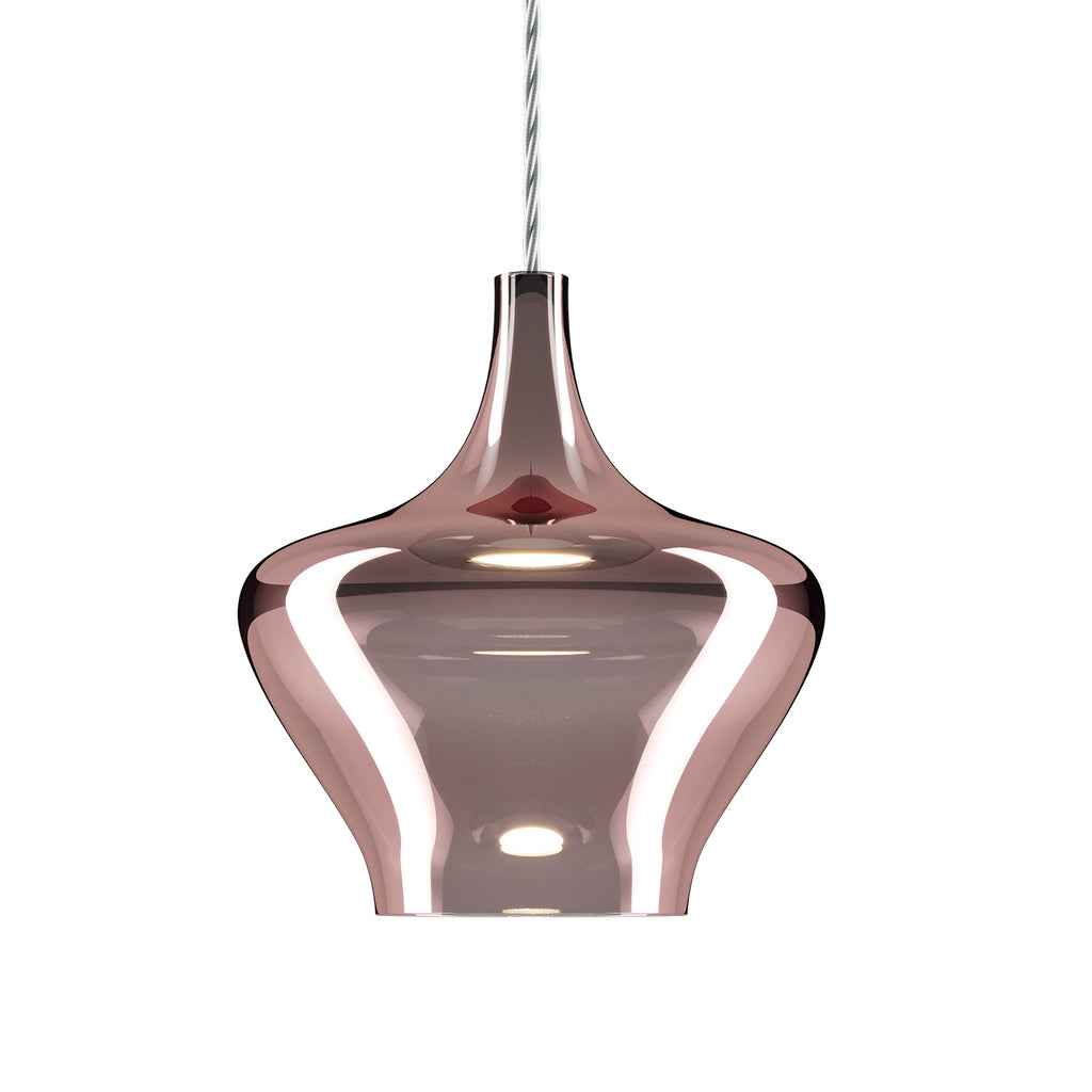 Nostalgia Medium Pendant Light, Rose Gold