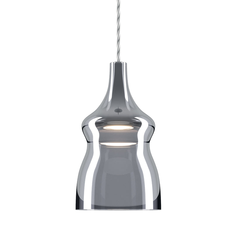 Nostalgia Small Pendant Light, Chrome